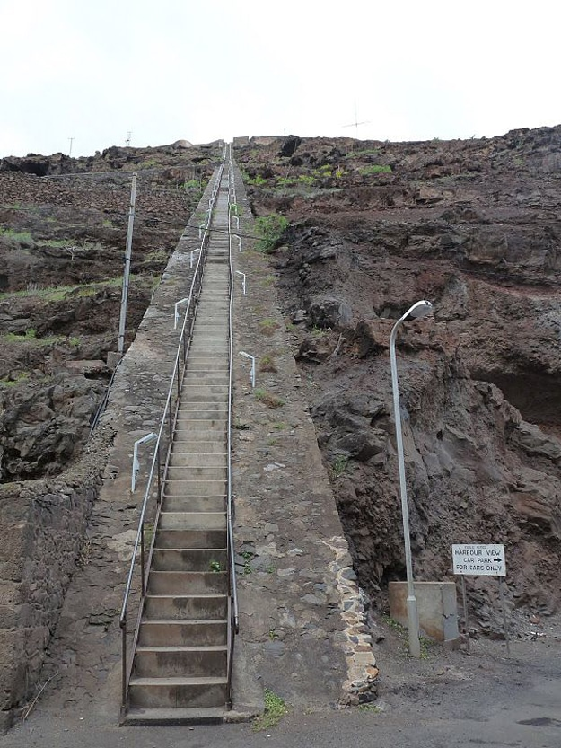 Over 600 Steps On Staircase