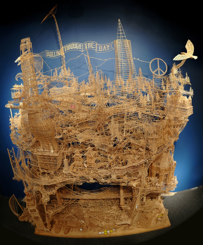 This Toothpick Build Took 35 Years To Complete