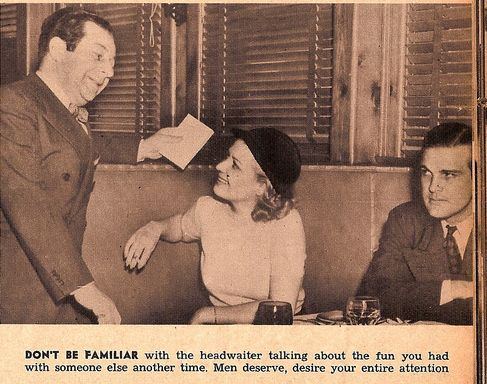 4 Dating Tips From 1930