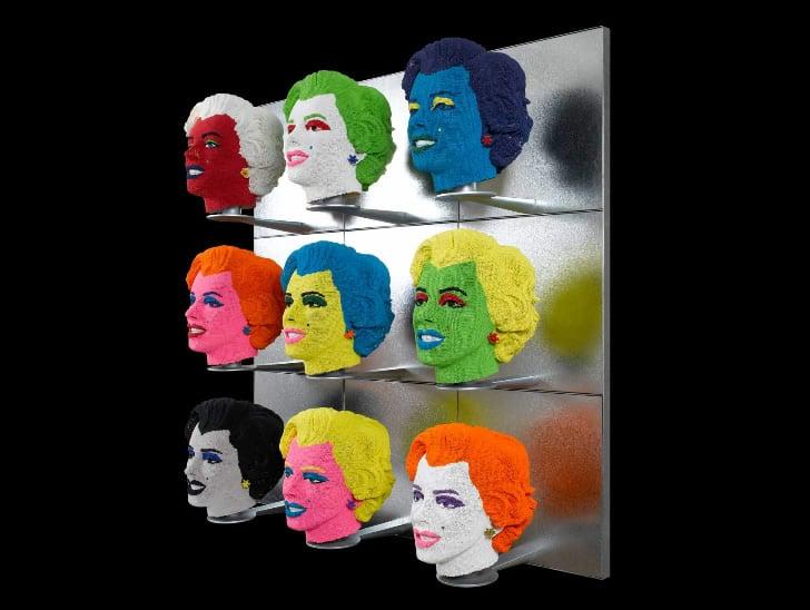 Amazing Matchstick Head Sculptures Portraits