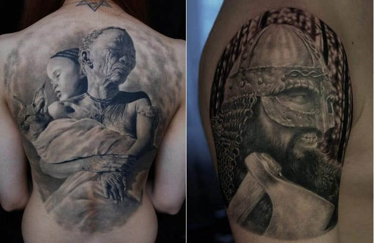 Amazing Photo Realistic Tattoo Art