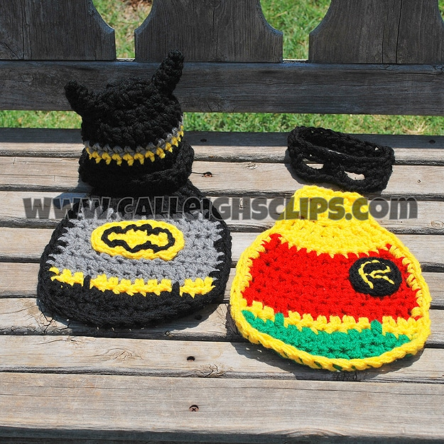 Infant Cosplay Batman and Robin