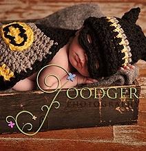 Geeky Babies: Batman & Robin Crocheted Baby Costumes