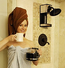 Bathe & Brew: Shower & Brew Your Coffee At The Same Time