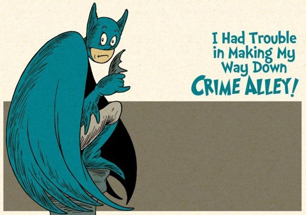 Unusual Batman Cartoon Mashup