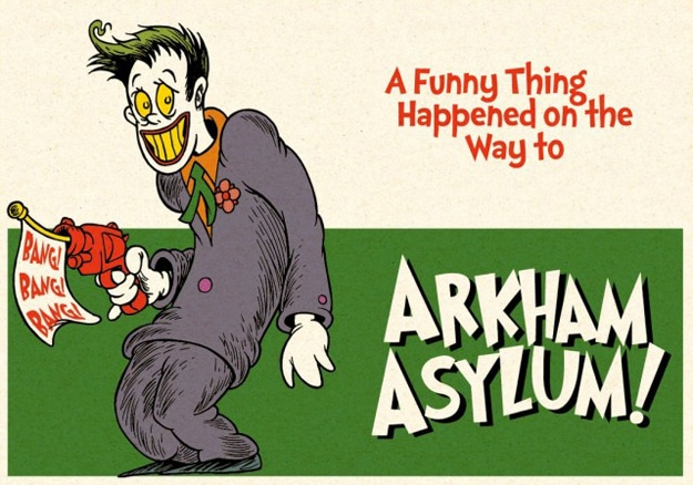Creative Batman Cartoon Combination