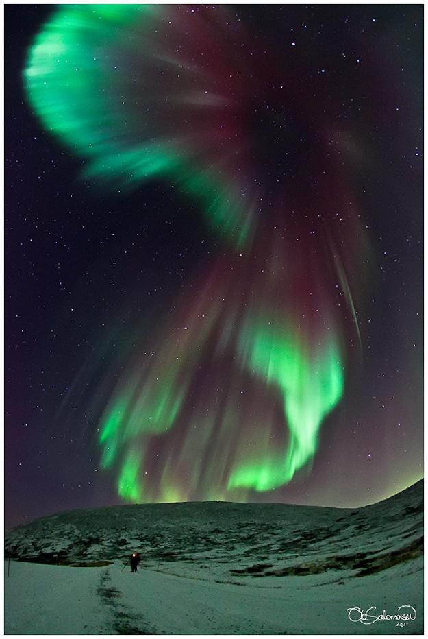 Aurora Borealis: Northern Lights Put On An Art Show