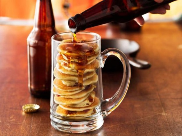 How To Make Beer & Bacon Mancakes (The Ultimate Dude Food)