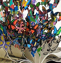 Book Of Life: Beautiful Butterflies Burst From This Stunning Book