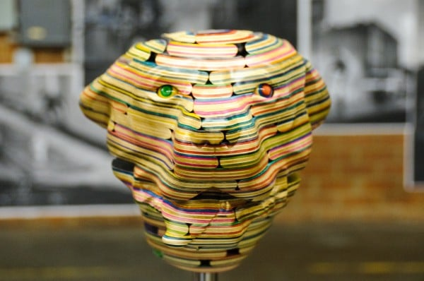 Insanely Mad Recycled Skateboard Deck Sculptures