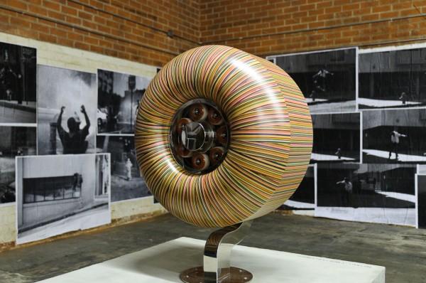 Broken Skateboard Deck Recycled Artwork