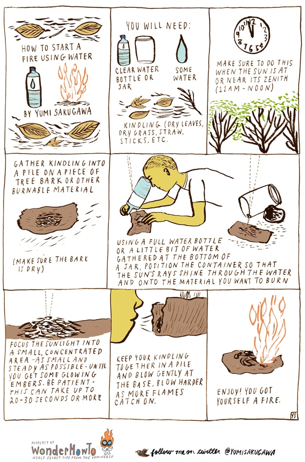 How To: Make A Fire With Water