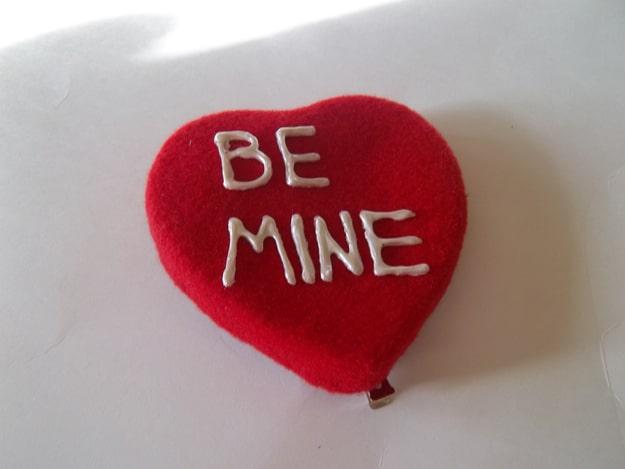 Etsy Handmade Heart Berets
