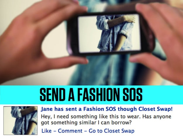 Trade Clothes With Facebook Friends