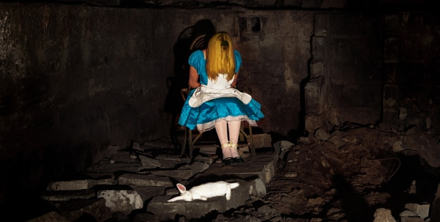 Disney Princesses Dead Photography