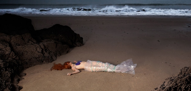Little Mermaid Dead On Beach