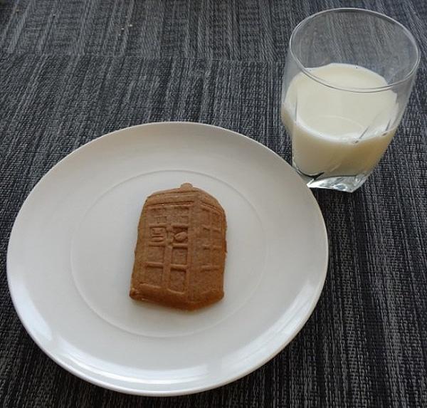 Geek Cookies TARDIS Design