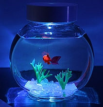 An Electronic Goldfish: The Perfect Pet For Workaholics
