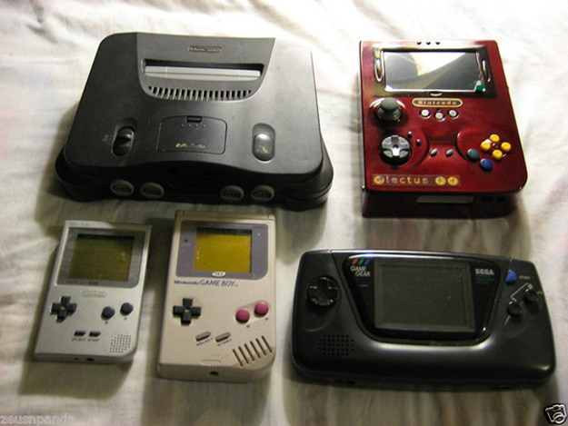 Game Boy N64 Game Gear