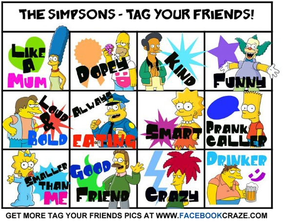 Facebook Funny Friend Tagging Templates