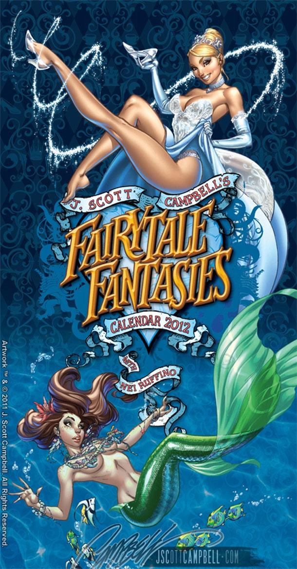 Fairy Tale Pin-Up 2012 Calendar