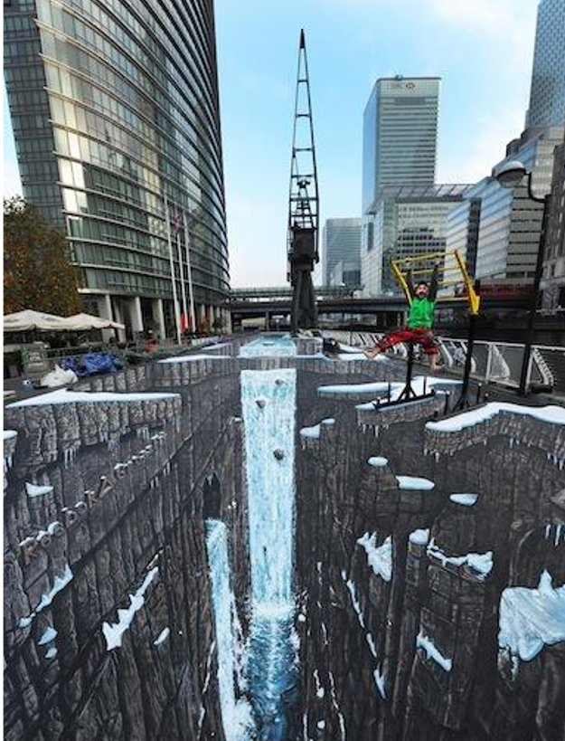 World's Longest & Largest 3D Street Art