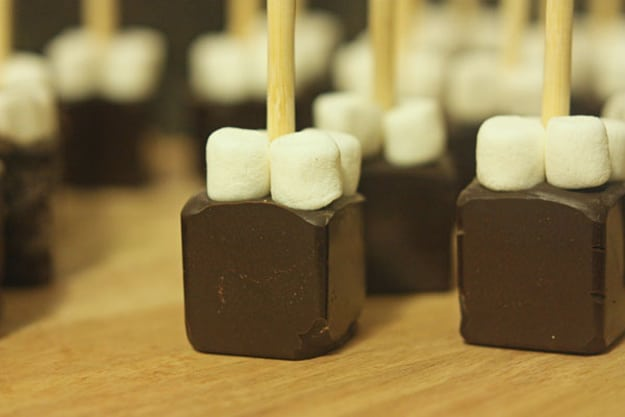 Fudge Marshmallows For Coffee