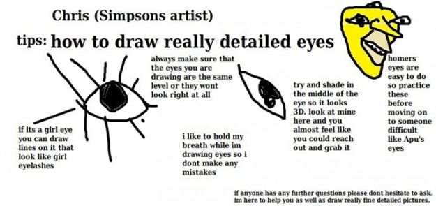 Draw Really Detailed Eyes