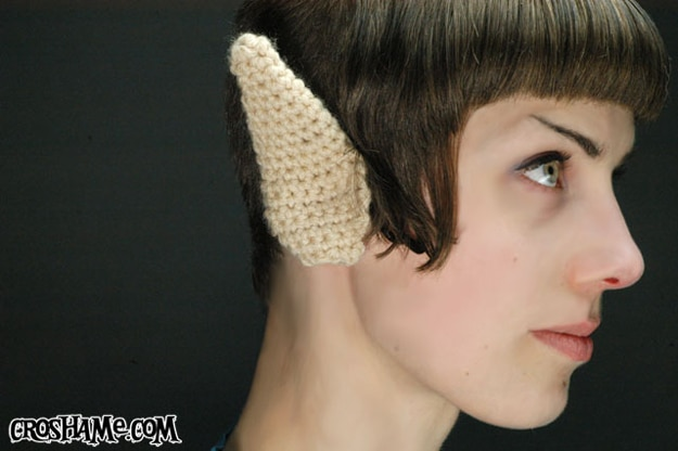 Crocheted Spock Ears Tutorial