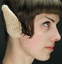 Crocheted Spock Vulcan Ears