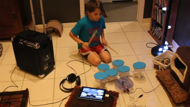Awesome Portable Drum Kit Created From IKEA Bowls