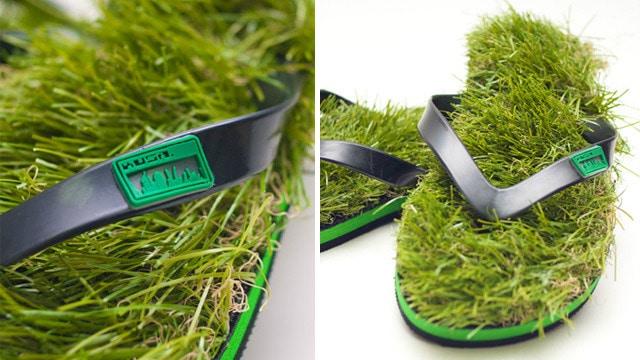 Kusa Shoe Grass Sandals Concept