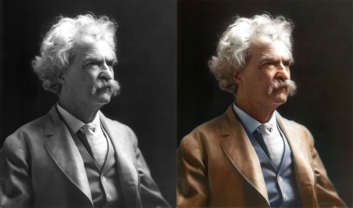 Legendary Photos Colorized In Photoshop