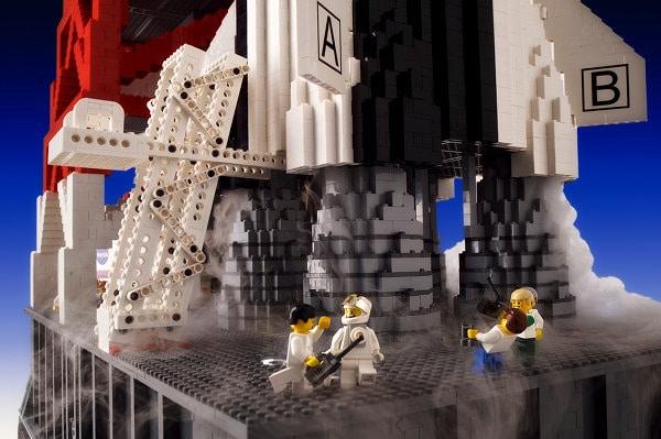Huge Lego Brickman Creation