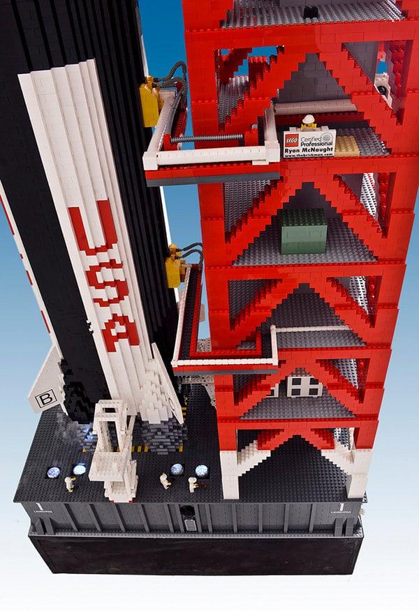 Big Lego Brickman Creation