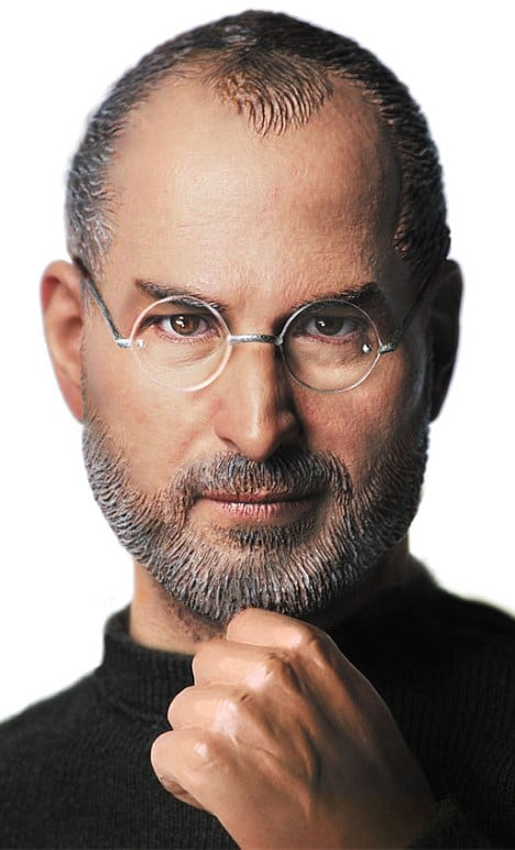 Lifelike Steve Jobs Action Figure