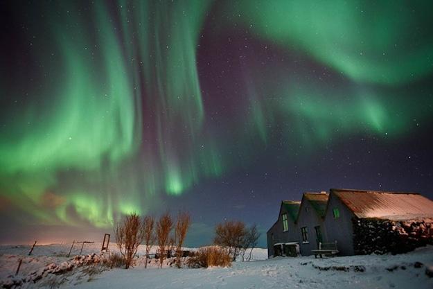 Aurora Borealis Light Show