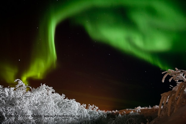 Aurora Borealis In The Sky