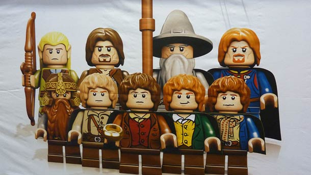 The Updated Lord Of The Rings Lego Figurines