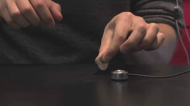 Mogees: Turn Any Surface Into A Gesture Musical Instrument