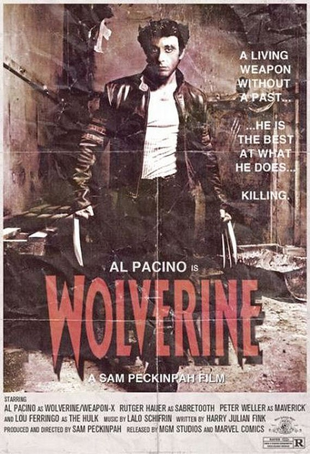 Wolverine Recreated From Long Ago