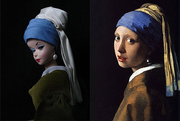 Creative Pop Culture Barbie Dolls