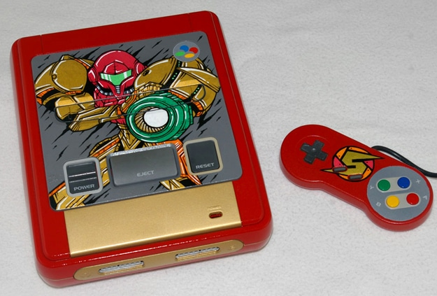 Design Inspiration: Brilliant Metroid & Ninja Turtle Nintendo Mods
