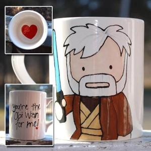 Jedi Master Kenobi heart pun