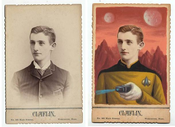 Photos From The 1870s Turned Into Superheroes