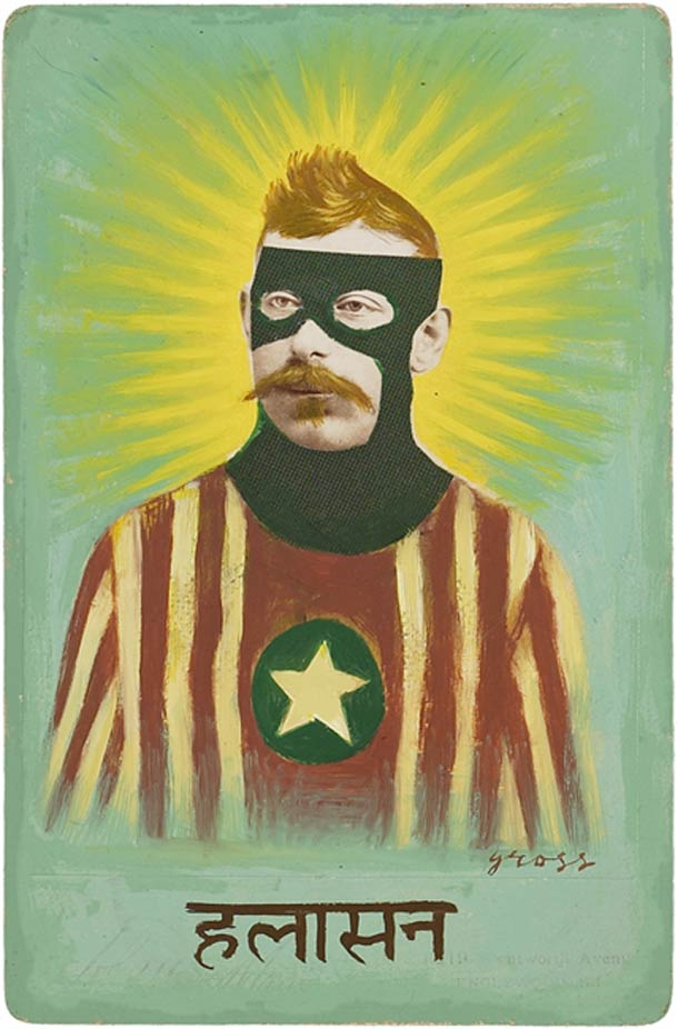 Old Photographs Turned Into Superheroes