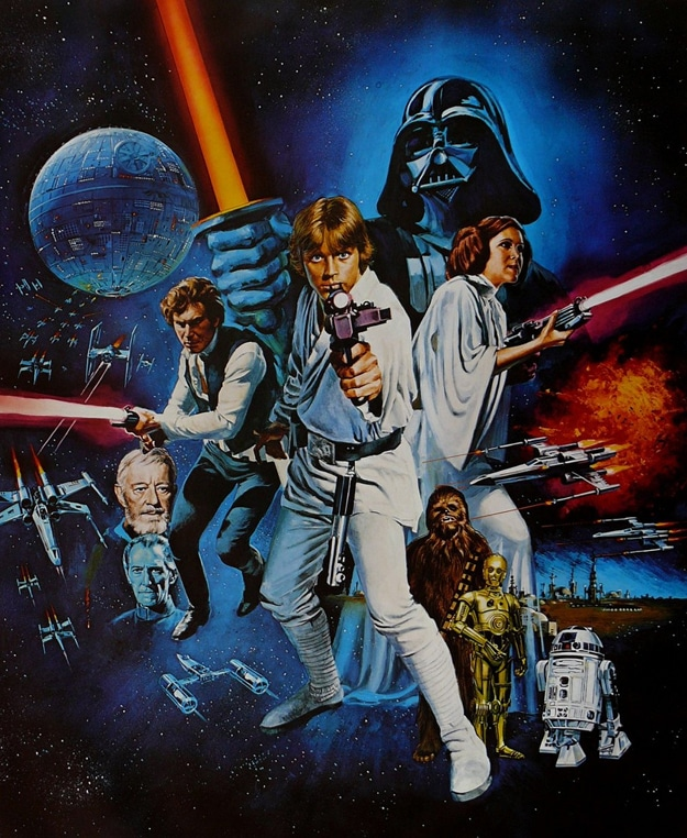 First Star Wars Movie Poster