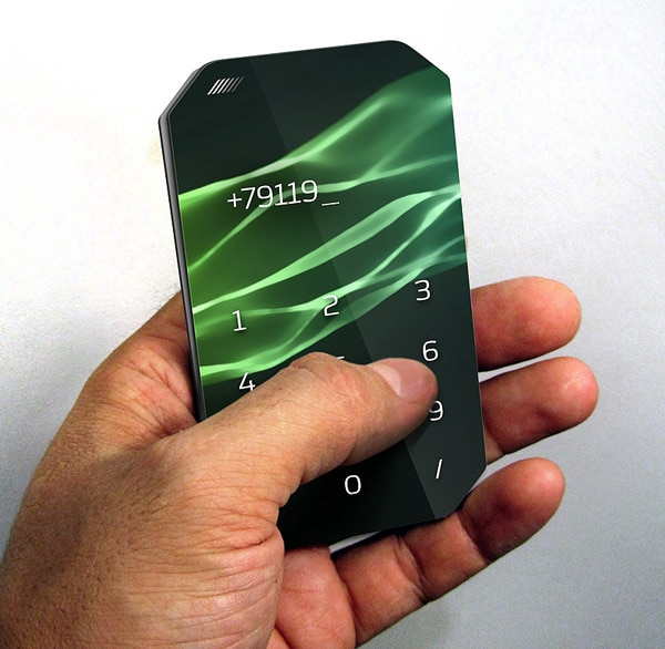 Introducing The Pamphlet Paper Thin Disposable Smartphone Concept