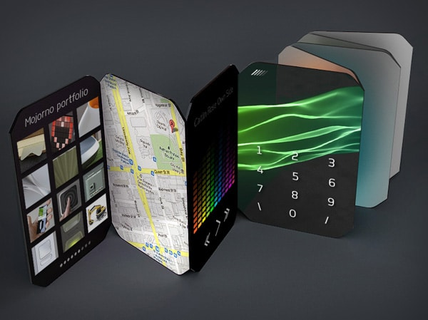 Paper Thin Pamphlet Smartphone Concept