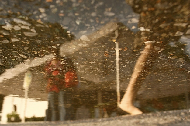 Reflection Photos Taken In Rain